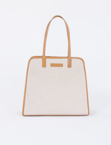 Square Satchel Bag Canvas