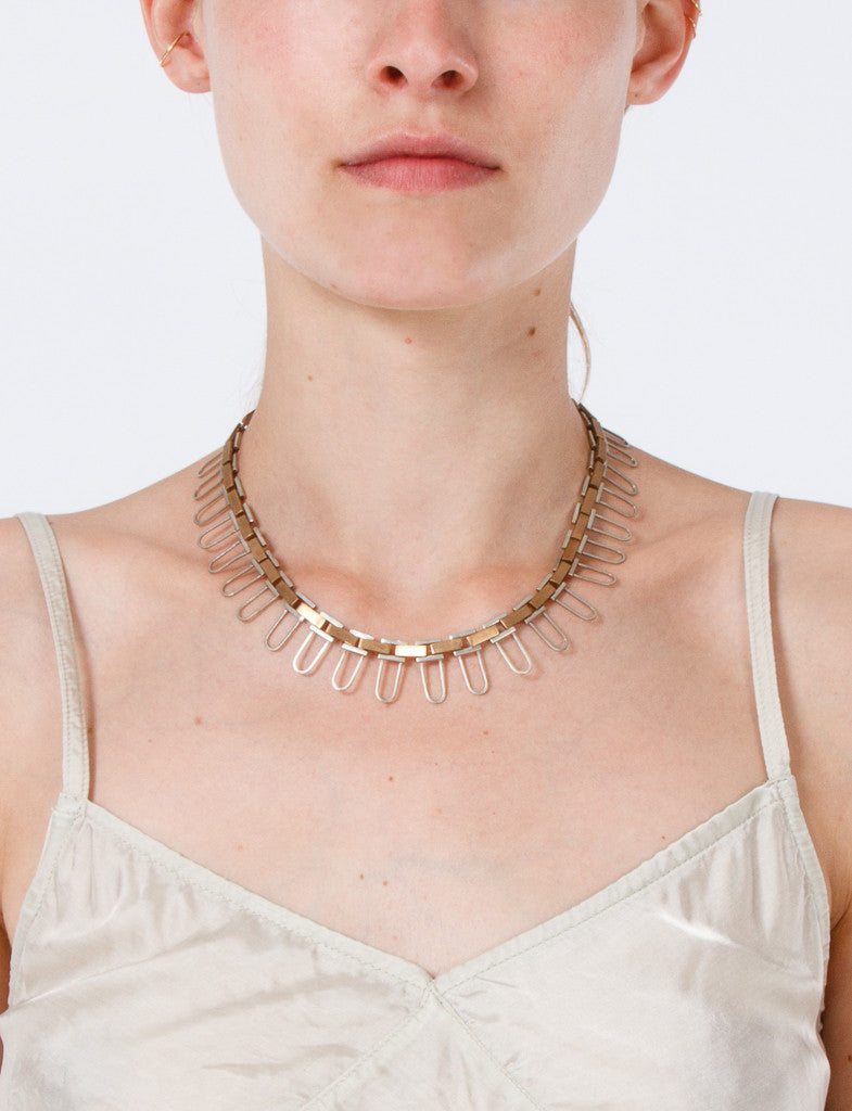 Pin Necklace Long