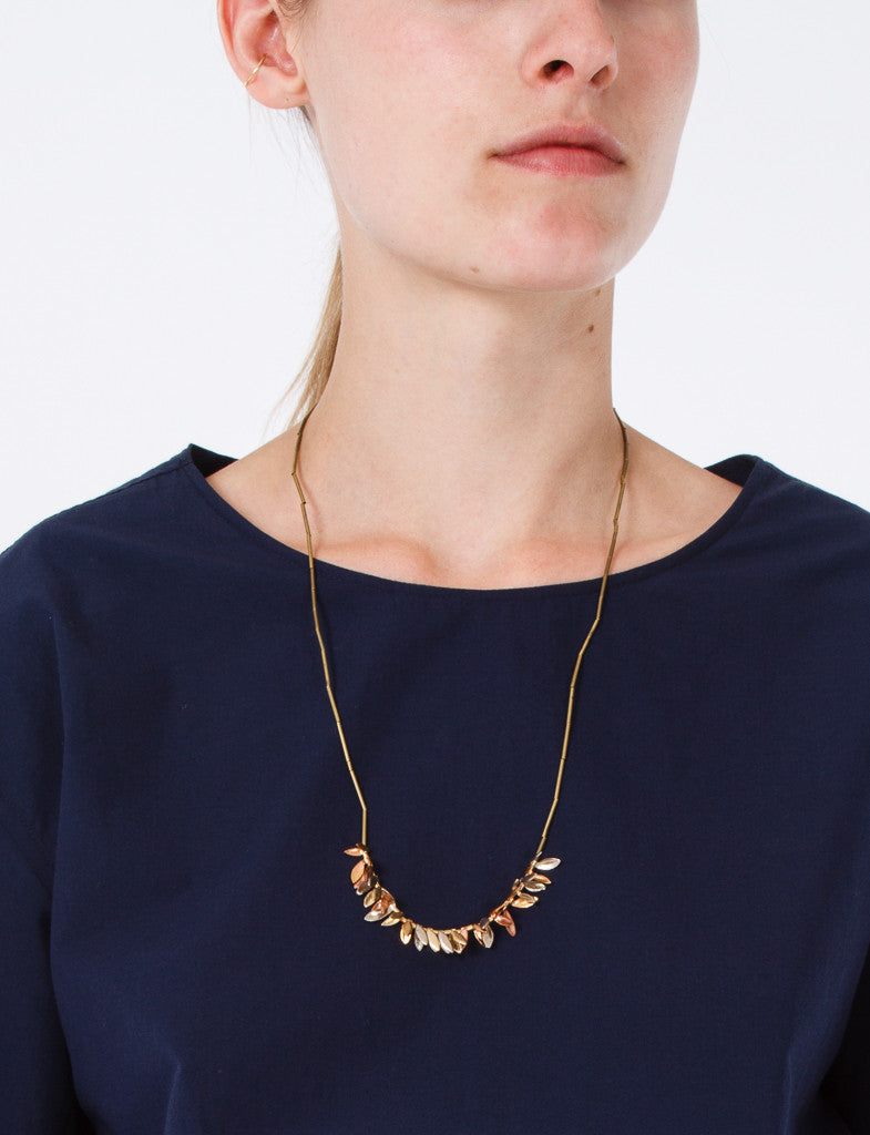 Wheat Toggle Clasp Necklace