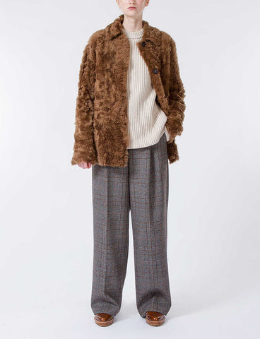 Cortes Lamb Fur Jacket