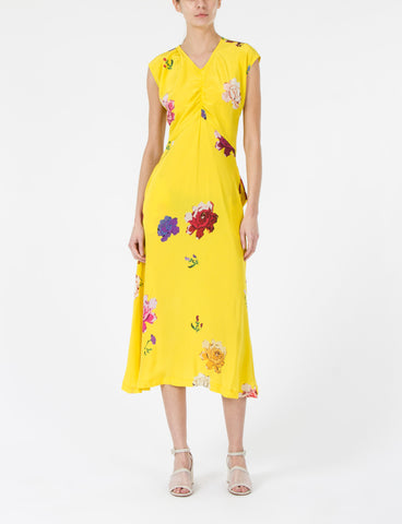 Murray Dress Floral Silk