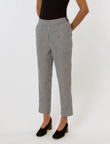 Creatures of Comfort Aiden Pant Gingham Viscose