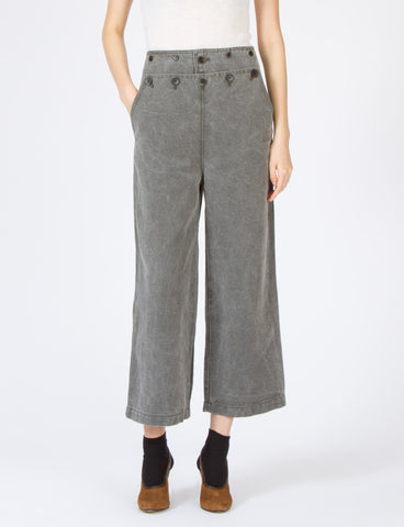 Hans Pant Stonewashed Cotton