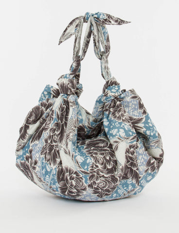 Knot Bag Small Mudcloth Silk - Creatures of Comfort