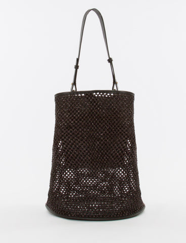 Bucket Bag Large Raffia Crochet - Creatures of Comfort