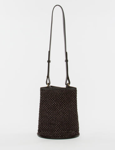 Bucket Bag Small Raffia Crochet - Creatures of Comfort
