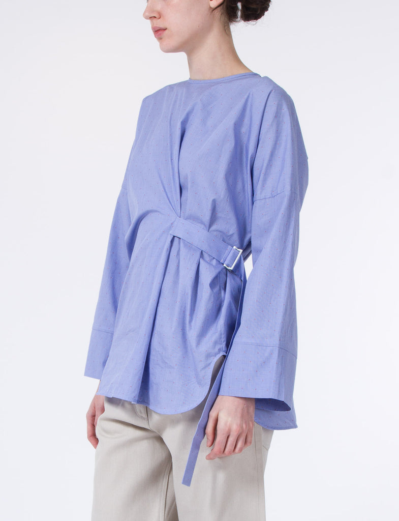 Day Check Belted Tunic
