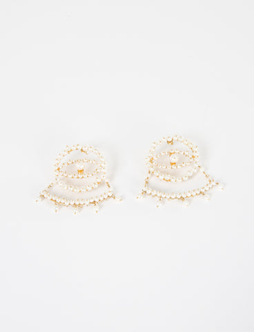 Tuza x Creatures of Comfort Eye of Pearl Earrings Pre-Order