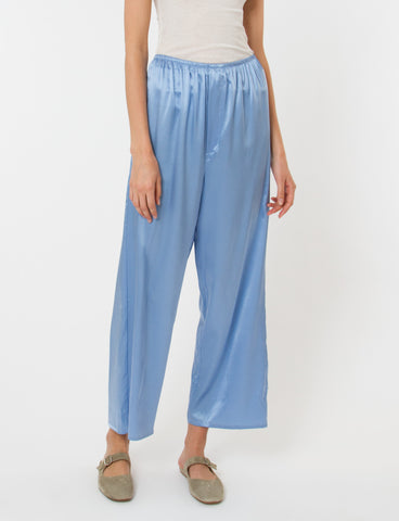 Domond Pants Silk Satin
