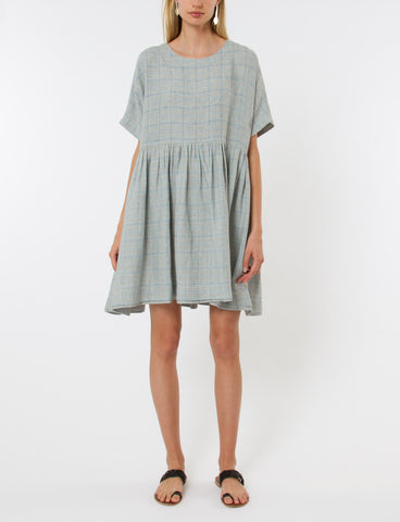 Rhys Dress French Plaid - Creatures of Comfort
