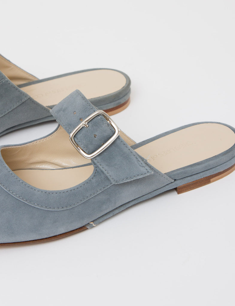 Lucca Flat Slip On Suede - Creatures of Comfort