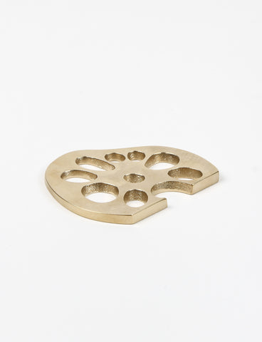 Lotus Brass Bottle Opener - Saikai