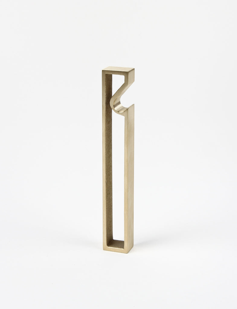 Oblong Brass Bottle Opener