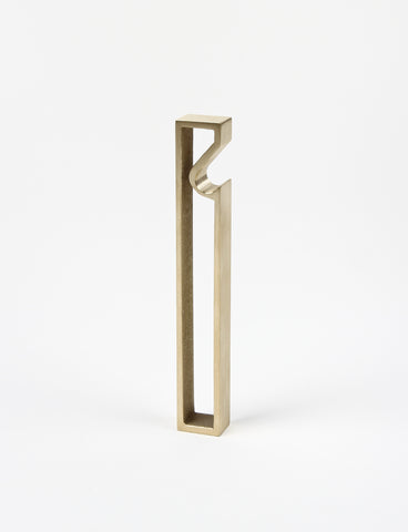 Oblong Brass Bottle Opener - Saikai