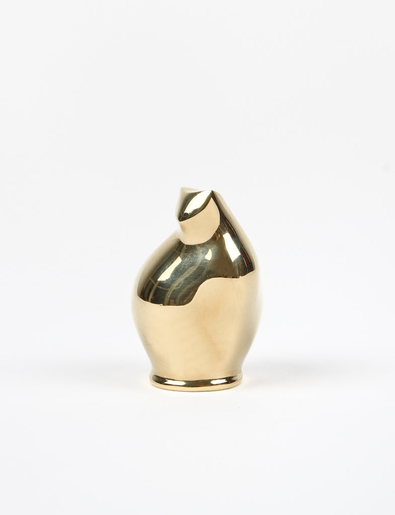 Brass Cat Paperweight