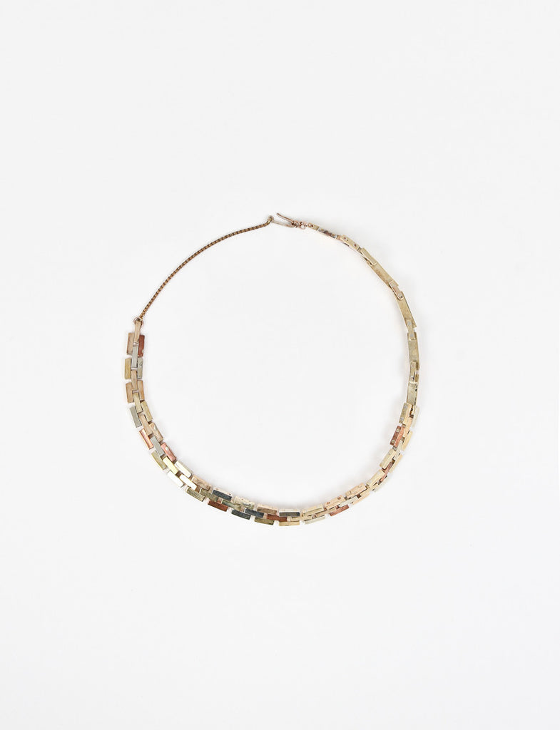 Bricbrac Necklace Short Brass