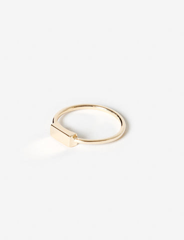 Prudence Rectangle Ring - Quarry Jewelry