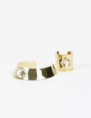 Loa Neck Cuff Brass