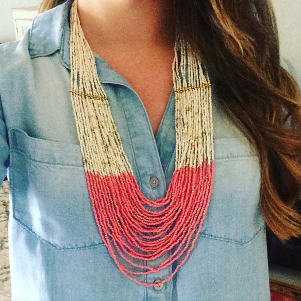 Ombre necklace {more colors}