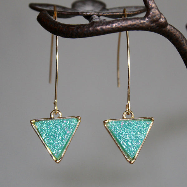 Arrow Druzy Earrings {more colors}