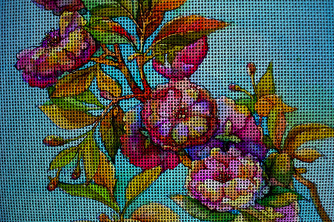 Needlepoint canvas 'Blossom fading'