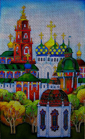 Needlepoint canvas 'Antiquity.Sergiev Posad'