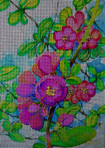 Needlepoint canvas 'Blo?ssoming'