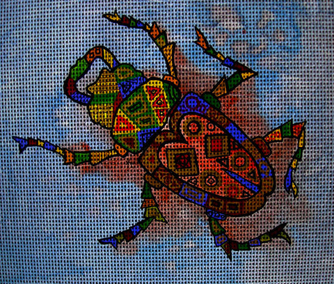 Needlepoint canvas 'Bug'