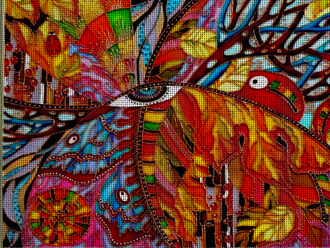 Needlepoint canvas 'Fall'