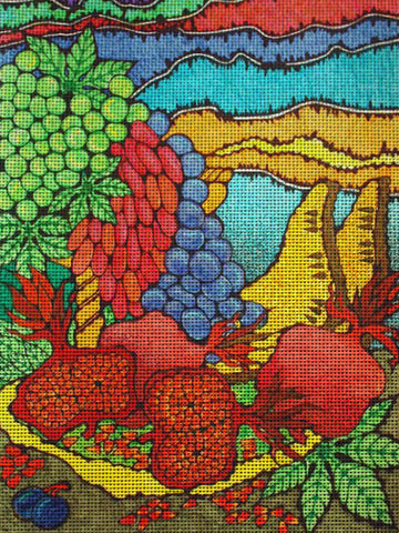 "Needlepoin?t canvas ""Fruits.St?ill life 3"""