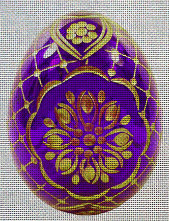 Needlepoint canvas 'Easter Eggs'