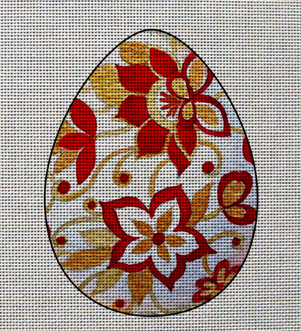 Needlepoint canvas 'Easter Flower Eggs'