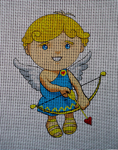 "Needlepoint canvas ""Valentine Day Cupid"""