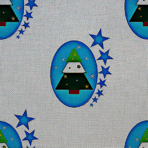 Needlepoint Canvas - Christmas christmas tree tree