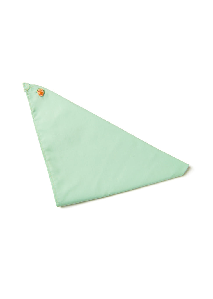 Mint 'Lone Rose' Bandana