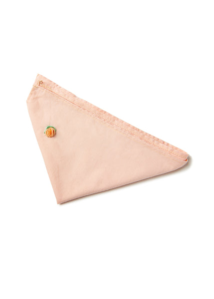 Peach 'Lone Rose' Bandana