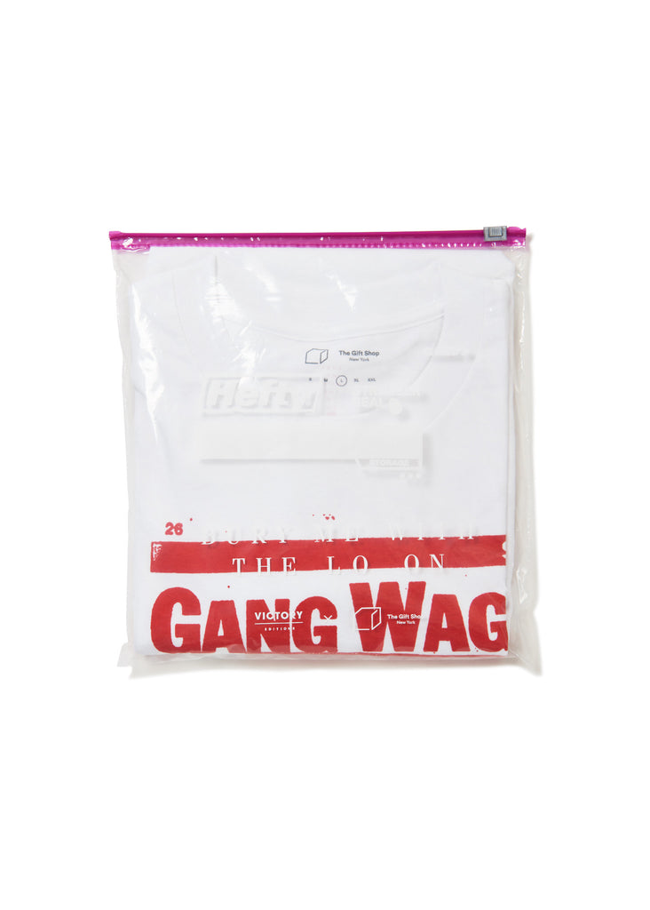 Bury Me With The Lo On 'Gang Wages War' T Shirt