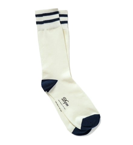 Stripe Crew Sock