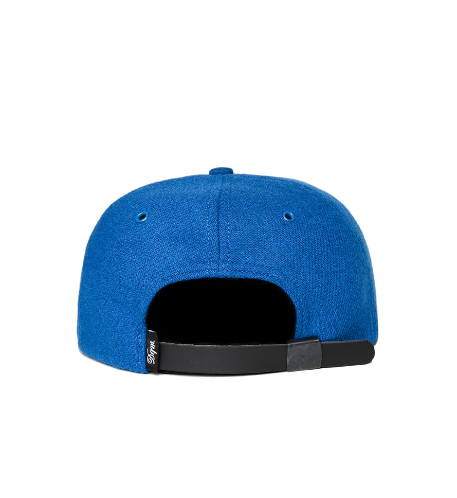 Wool and Suede Polo Cap