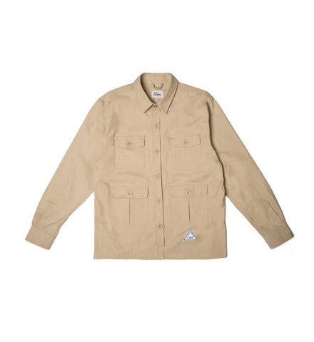 Cotton Ripstop Flight Shirt