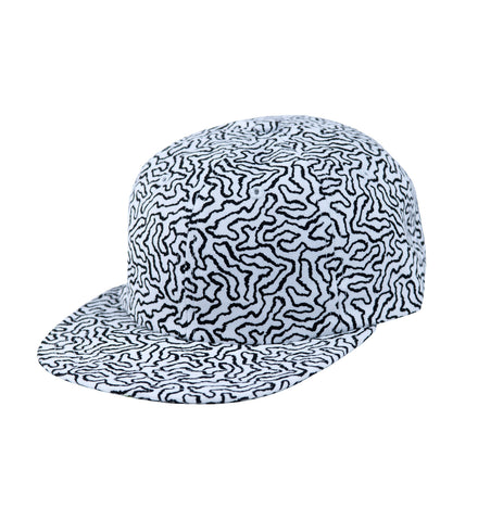 Earth Print Hat
