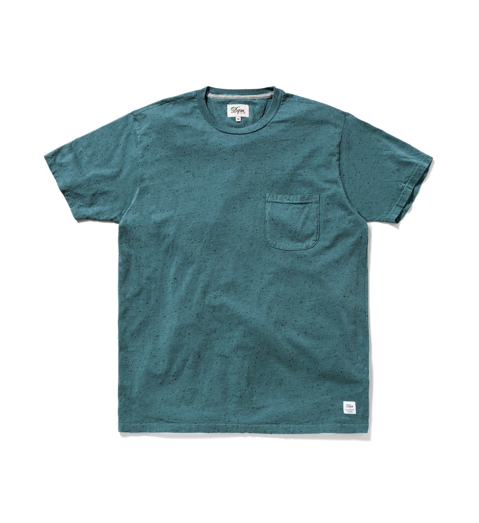 Pigment Dyed Neps Pocket Tee