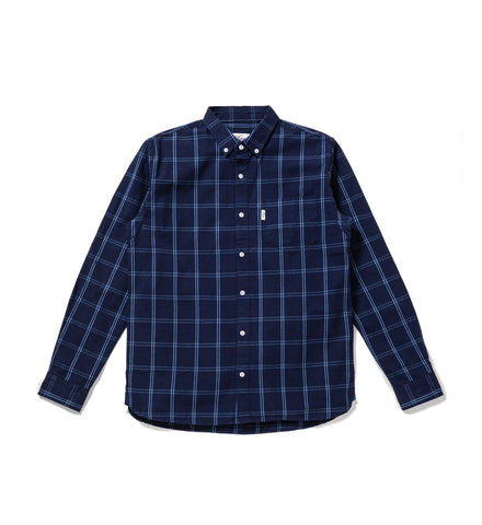 Classic Plaid Oxford Shirt