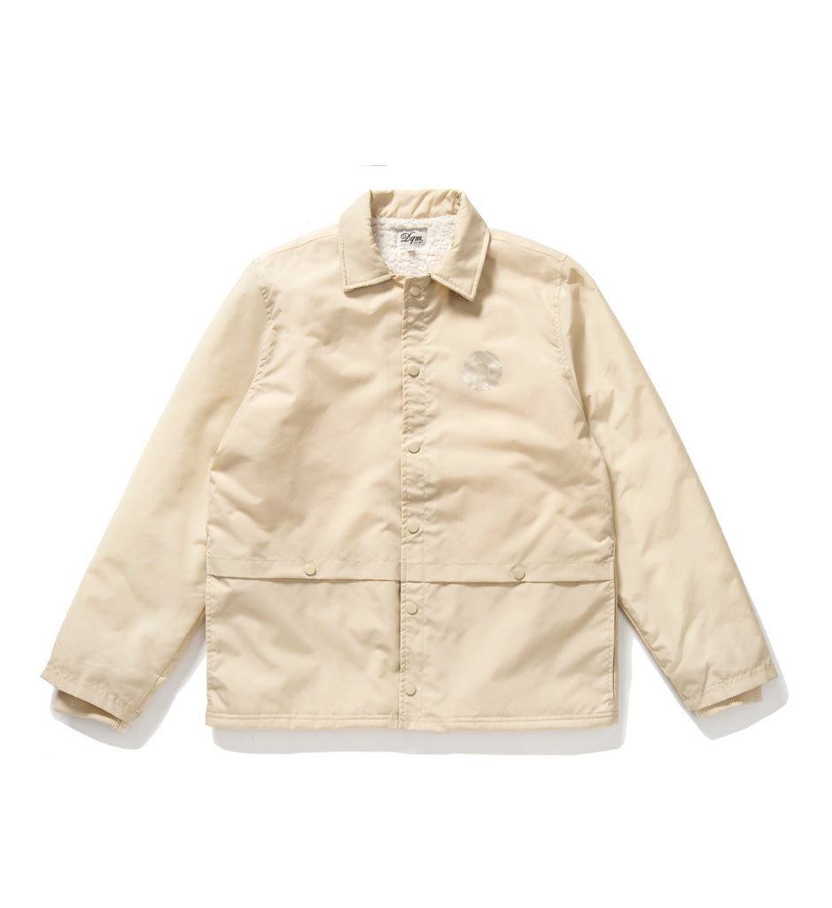 Sherpa Lined Coaches Jacket