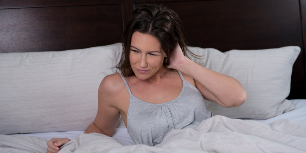 Back pain caused by hard mattress