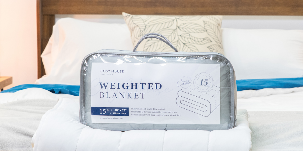 weighted blanket for college students at Cosy House Collection