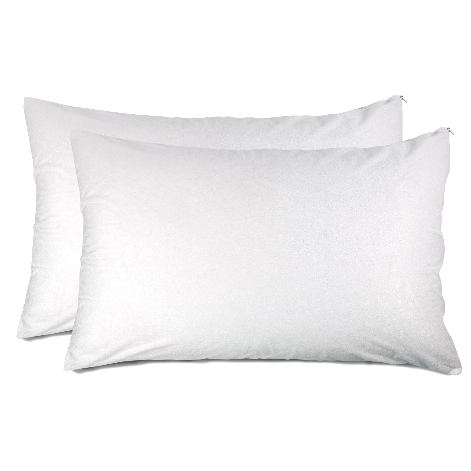 Bamboo Waterproof Zippered Pillow Protector