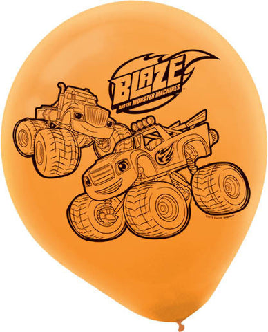 Blaze and the Monster Machines Printed Latex Balloons