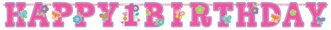 Sweet Birthday Girl Jumbo Letter Banner Kit