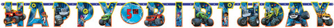 Blaze and the Monster Machines Jumbo Add an Age Letter Banner